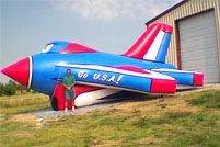Air Force Jet Airtight Inflatable Balloon