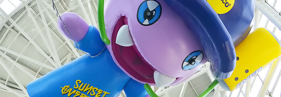 Fizzie Sunset Overdrive Helium Balloon