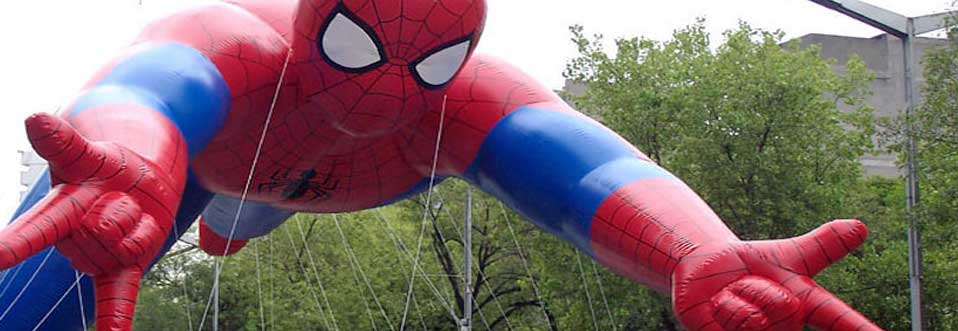 Spiderman Helium Parade Balloon